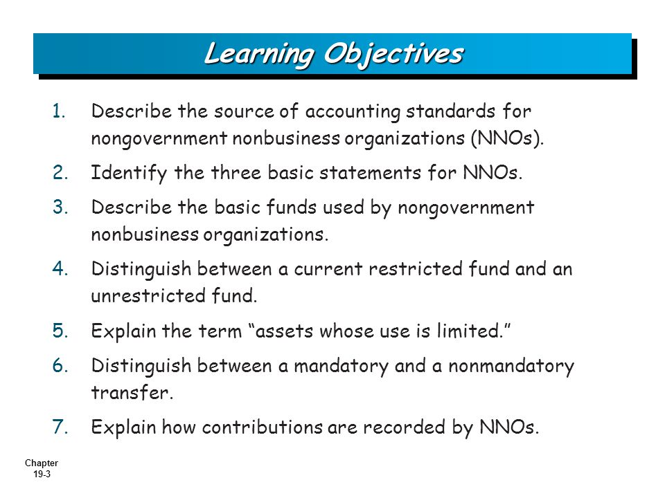 basic objective of accounting standards The conceptual framework describes the basic concepts that the framework serves as a guide to the international accounting standards the objective of.