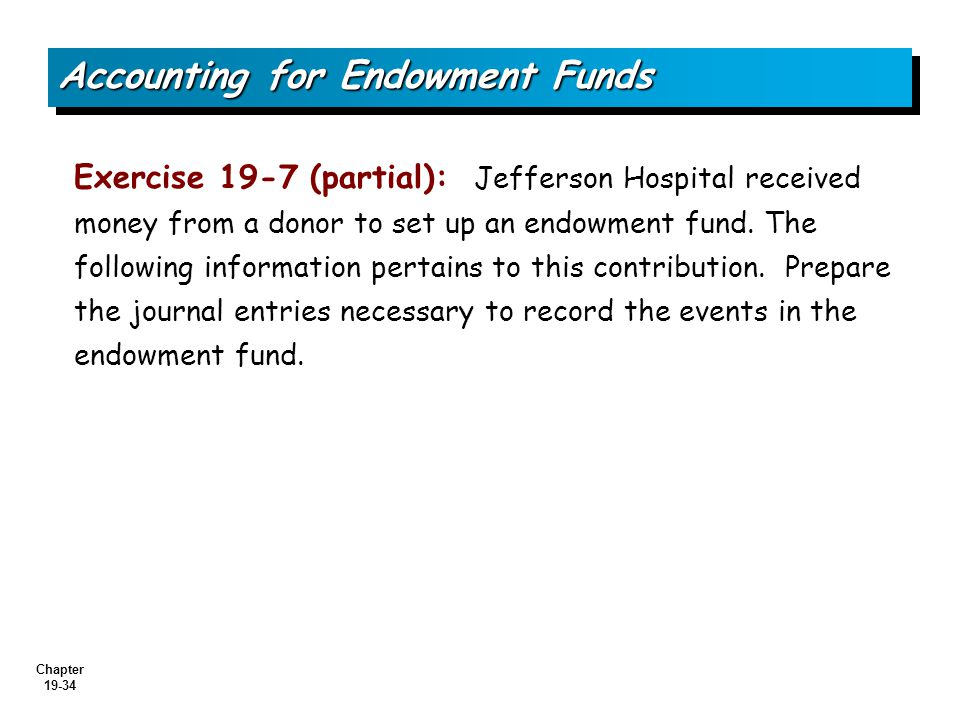 how to set up an endowment fund