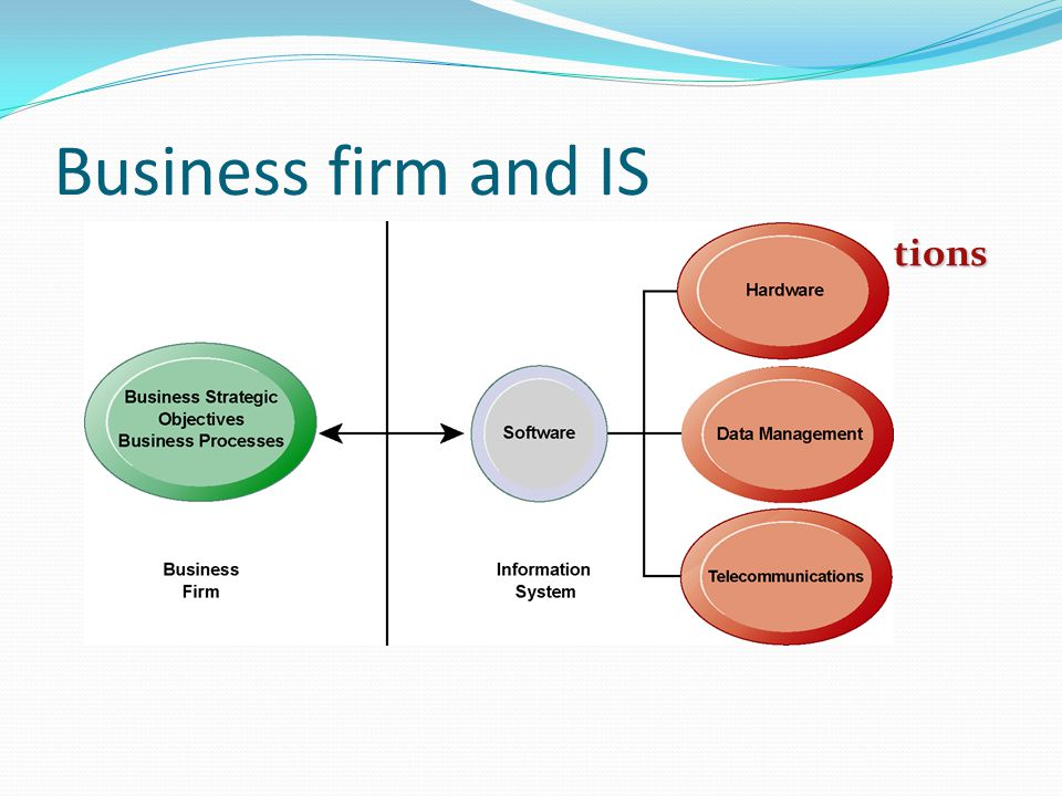 Business firm and IS The Interdependence Between Organizations and Information Technology