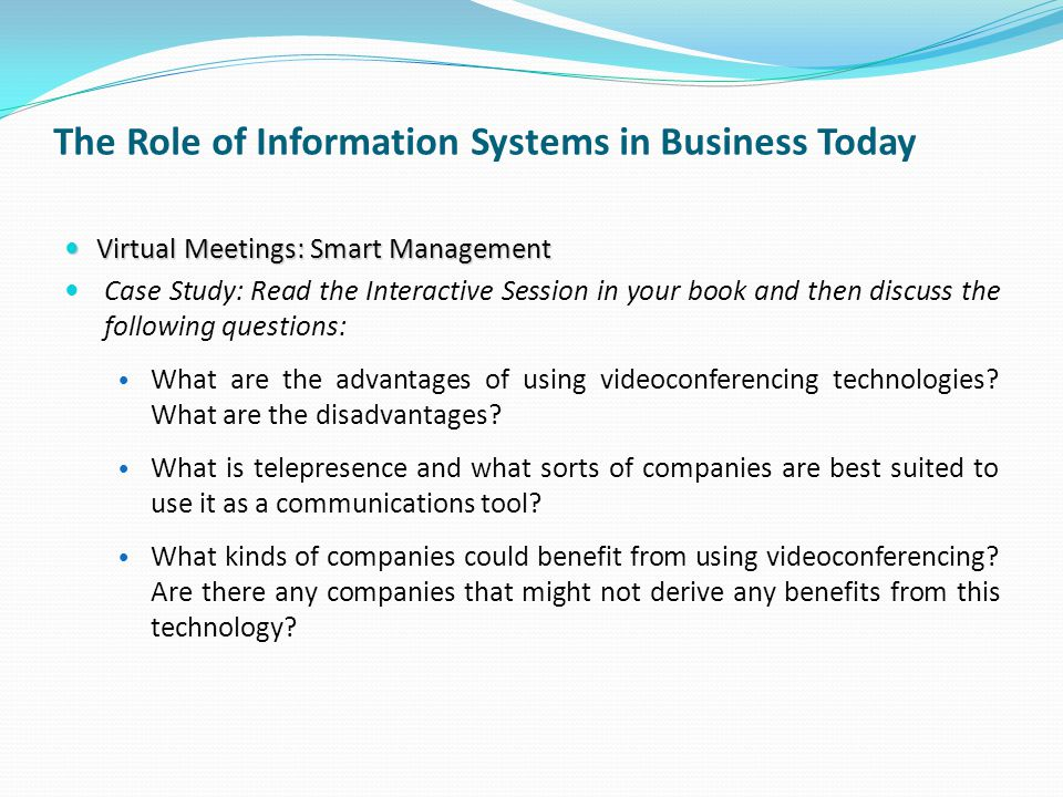 What Are Information Systems? - Definition & Types - Video ...