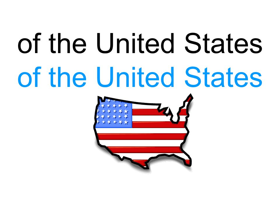 of the United States of the United States