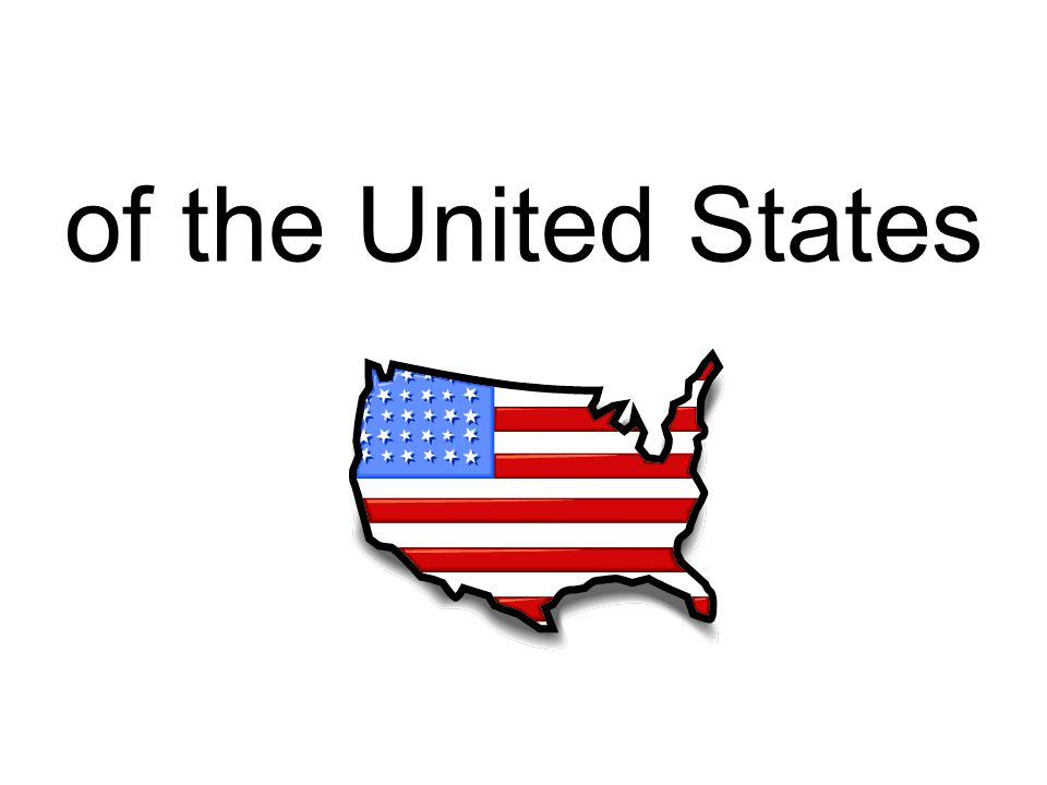 of the United States