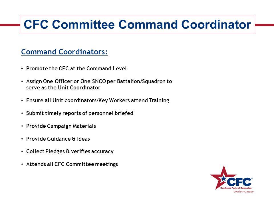 CFC Committee Command Coordinator