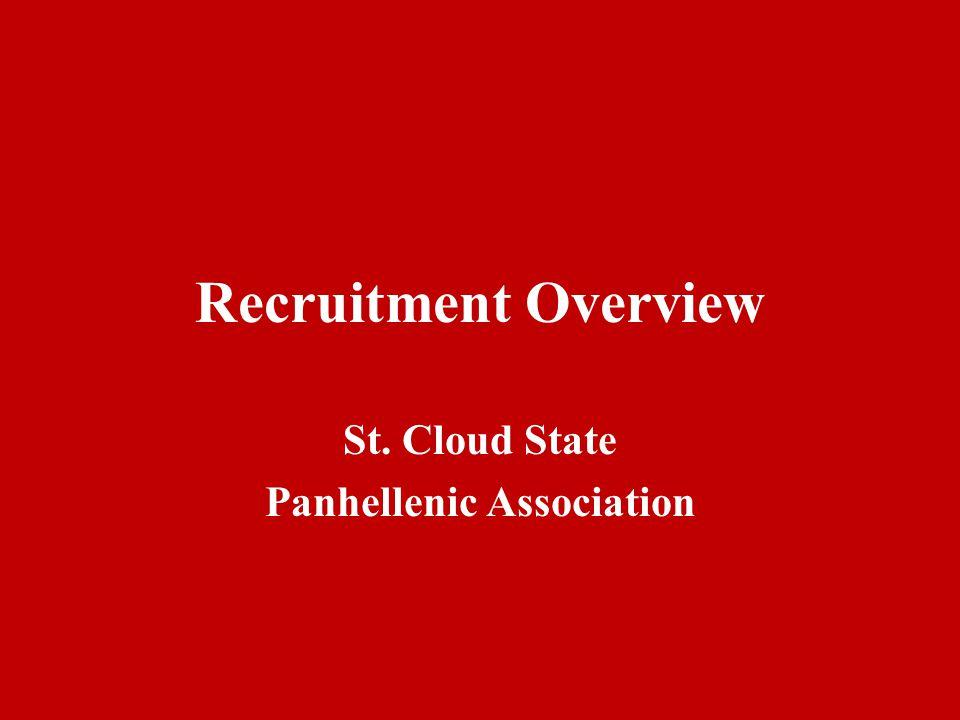 St. Cloud State Panhellenic Association