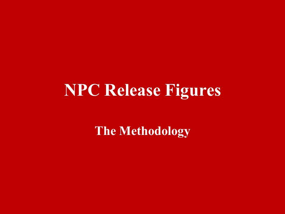 NPC Release Figures The Methodology