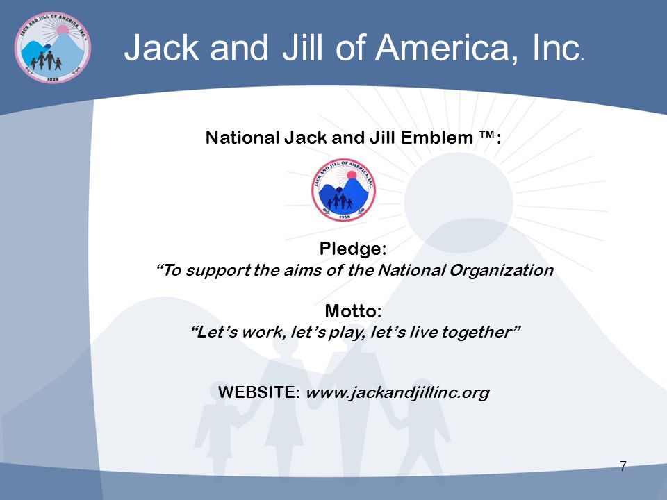 Jack and Jill of America, Inc.