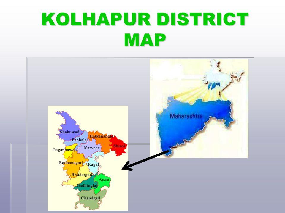 KOLHAPUR DISTRICT MAP