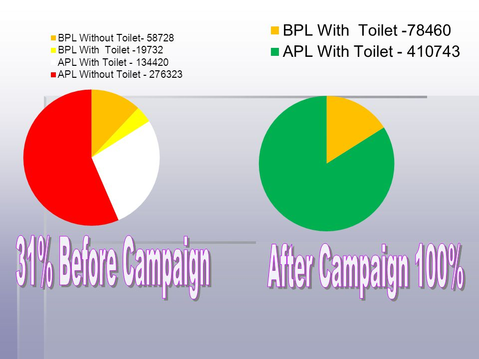 31% Before Campaign After Campaign 100%