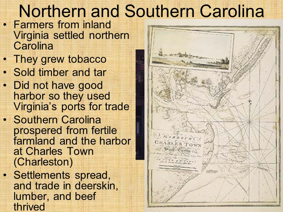 Northern and Southern Carolina