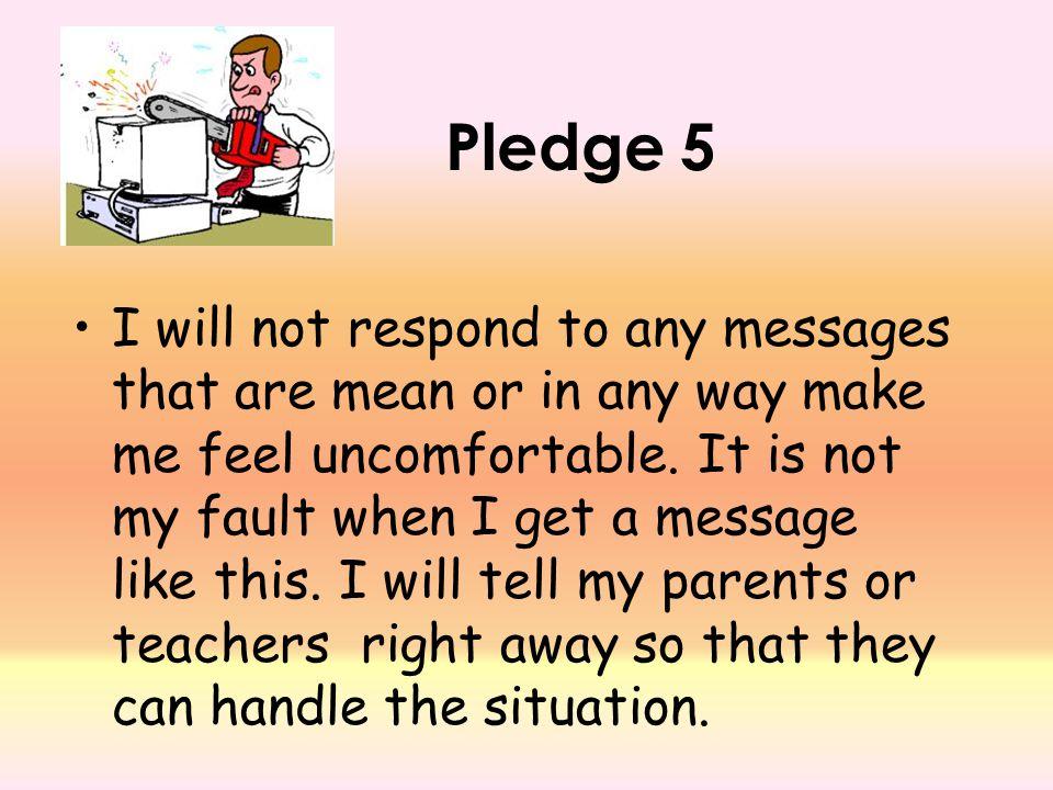 Pledge 5