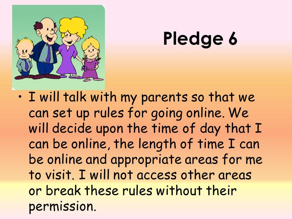 Pledge 6