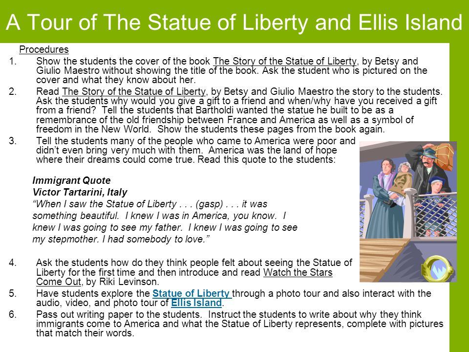 A Tour of The Statue of Liberty and Ellis Island