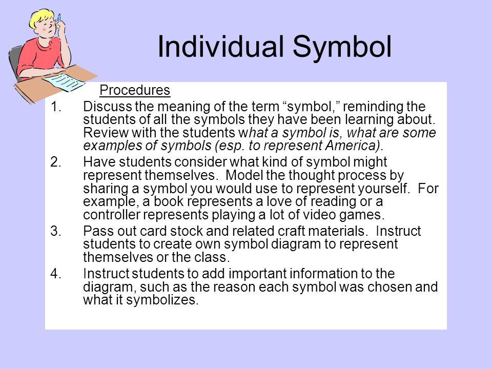 Individual Symbol Procedures.