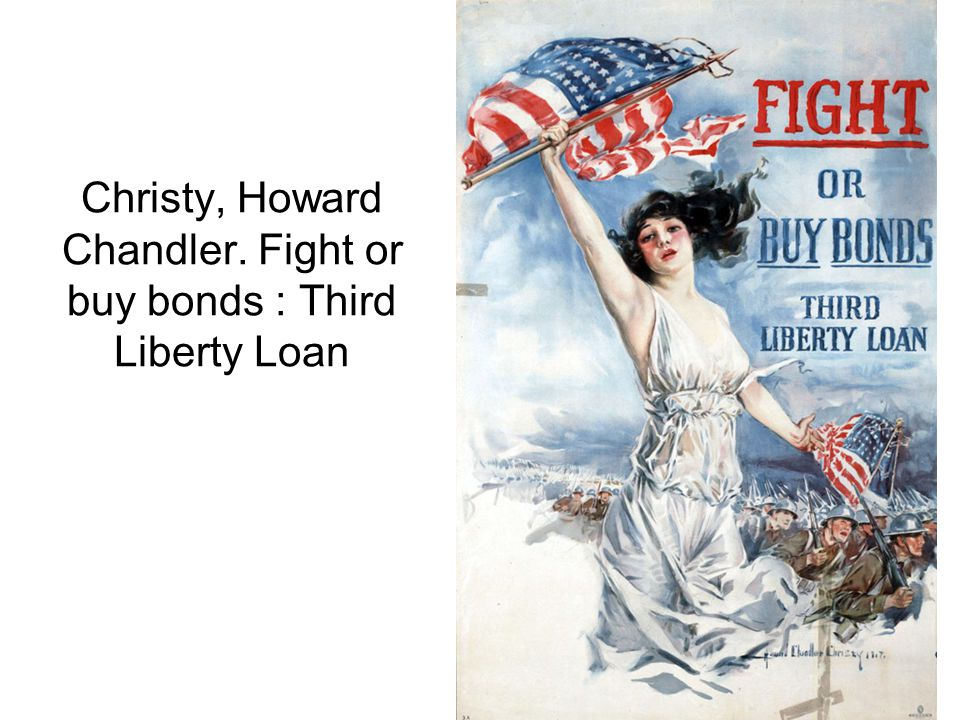 Christy, Howard Chandler. Fight or buy bonds : Third Liberty Loan