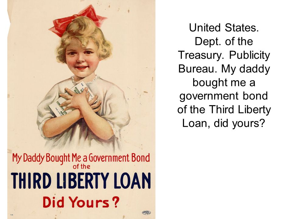 United States. Dept. of the Treasury. Publicity Bureau