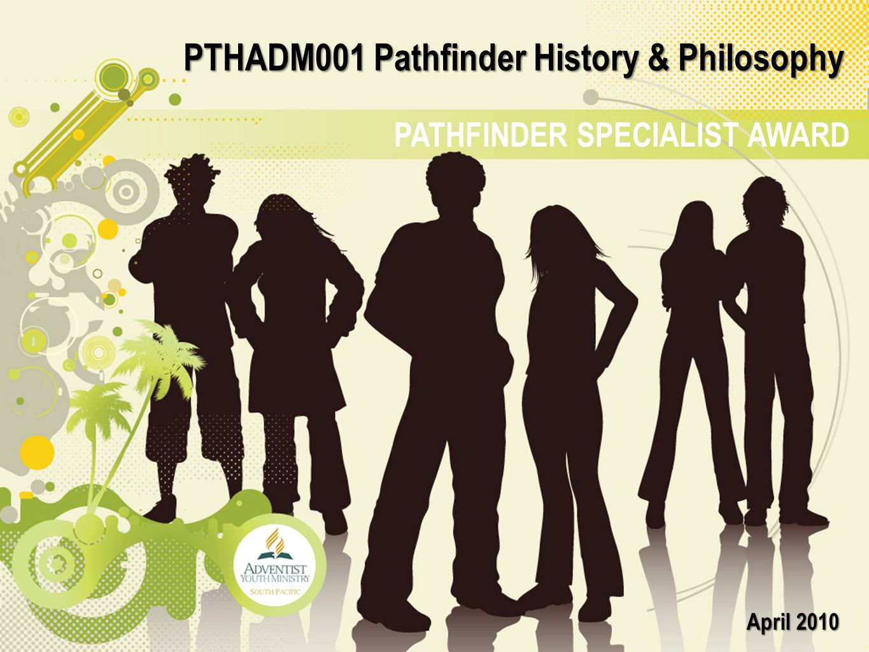 PTHADM001 Pathfinder History & Philosophy