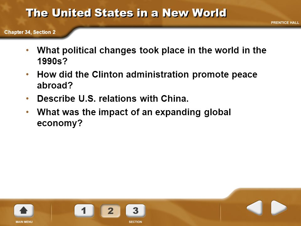 The United States in a New World
