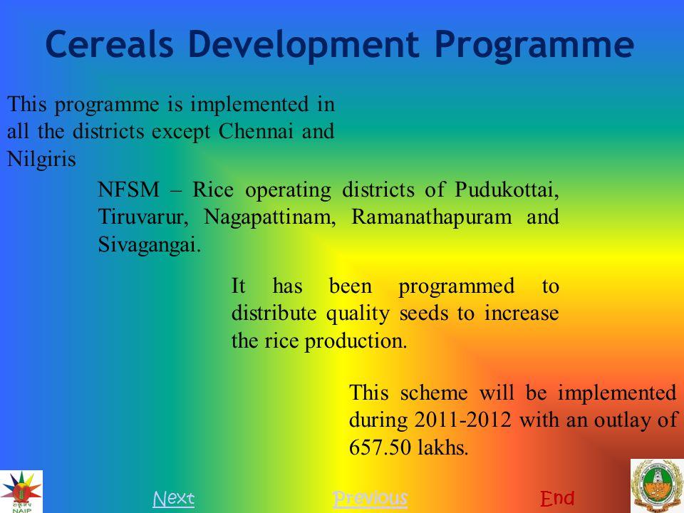Cereals Development Programme