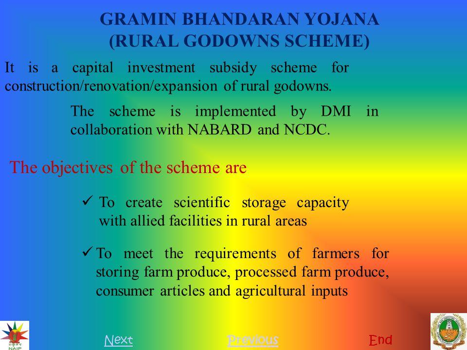 GRAMIN BHANDARAN YOJANA (RURAL GODOWNS SCHEME)