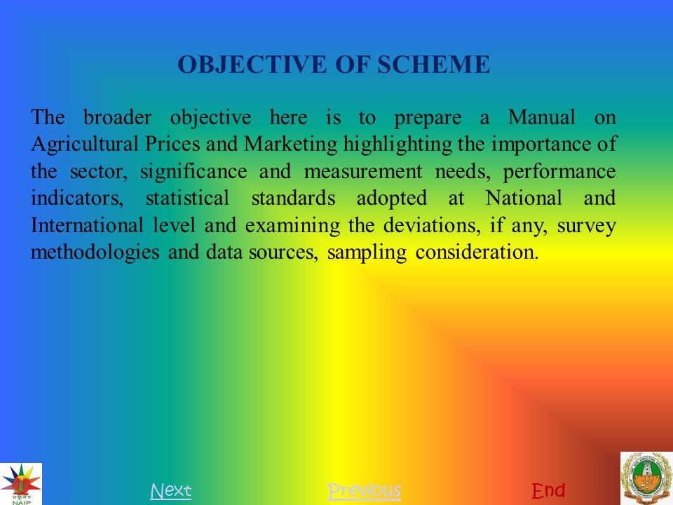 OBJECTIVE OF SCHEME