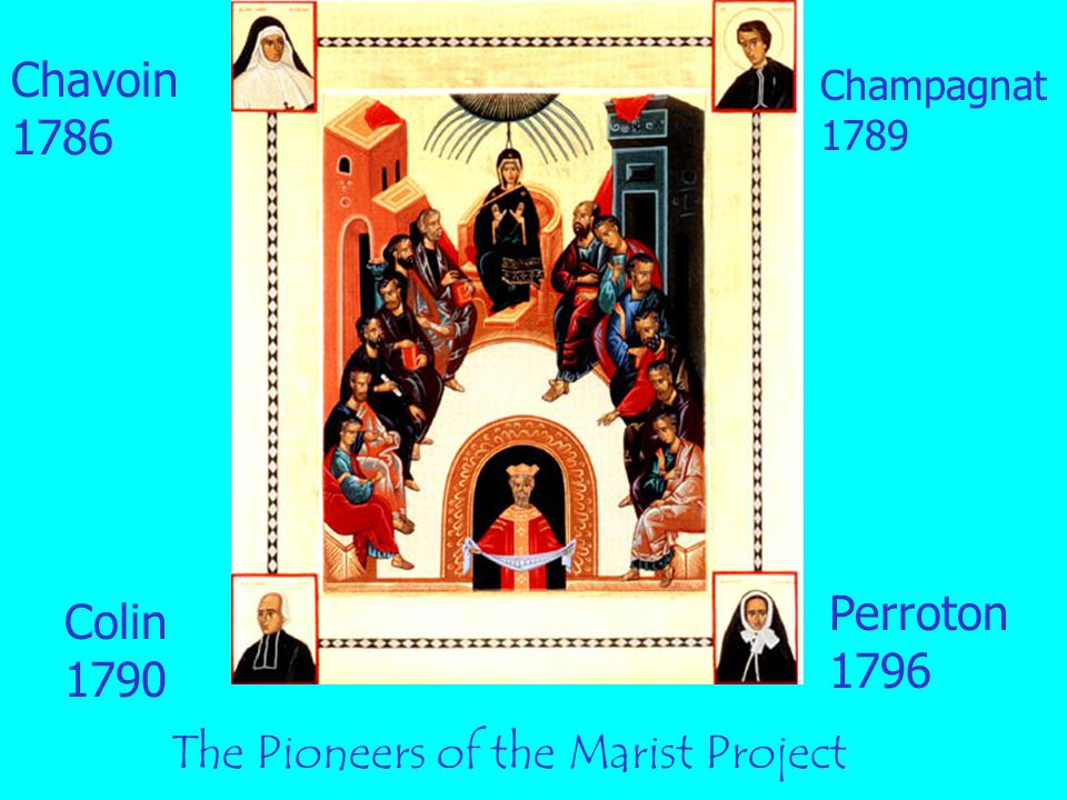 The Pioneers of the Marist Project