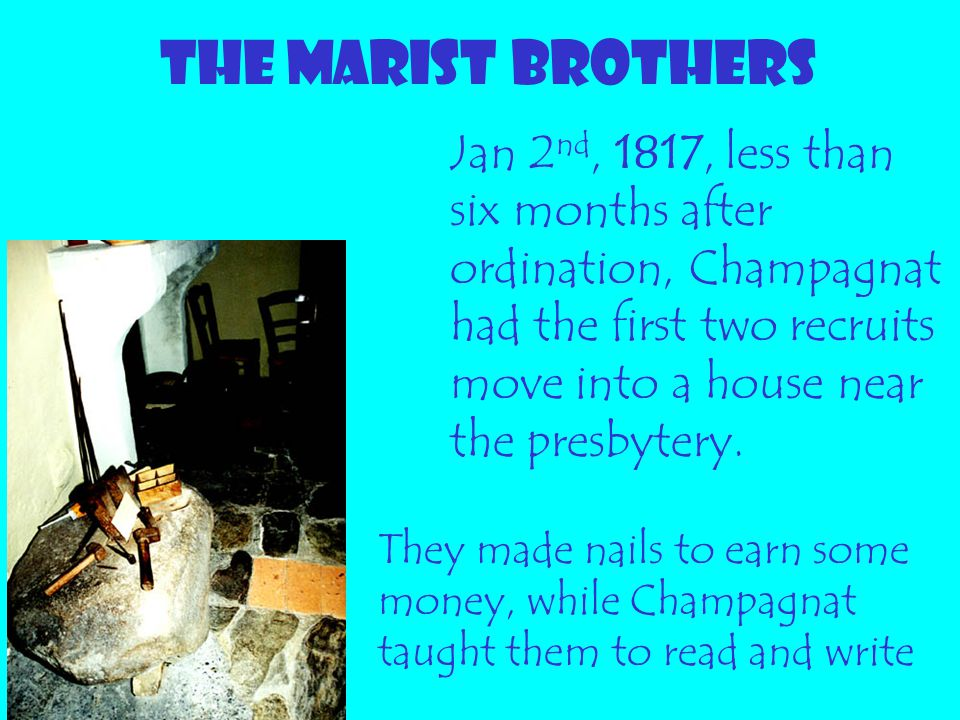 THE MARIST BROTHERS