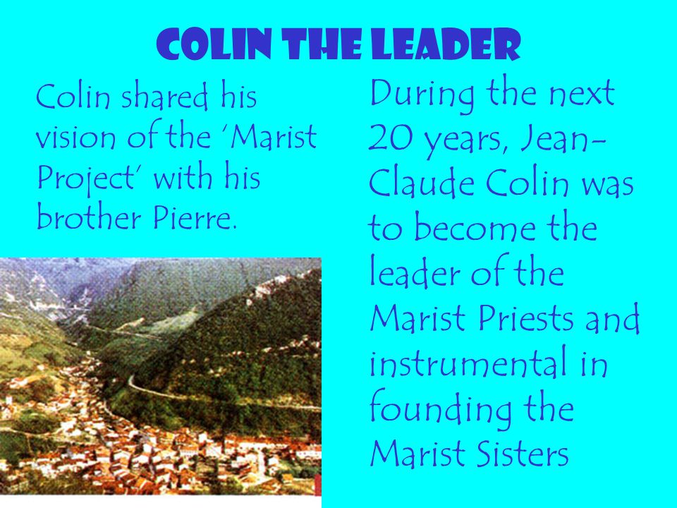COLIN THE LEADER