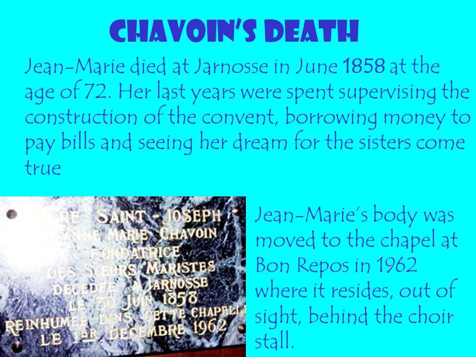 CHAVOIN'S DEATH