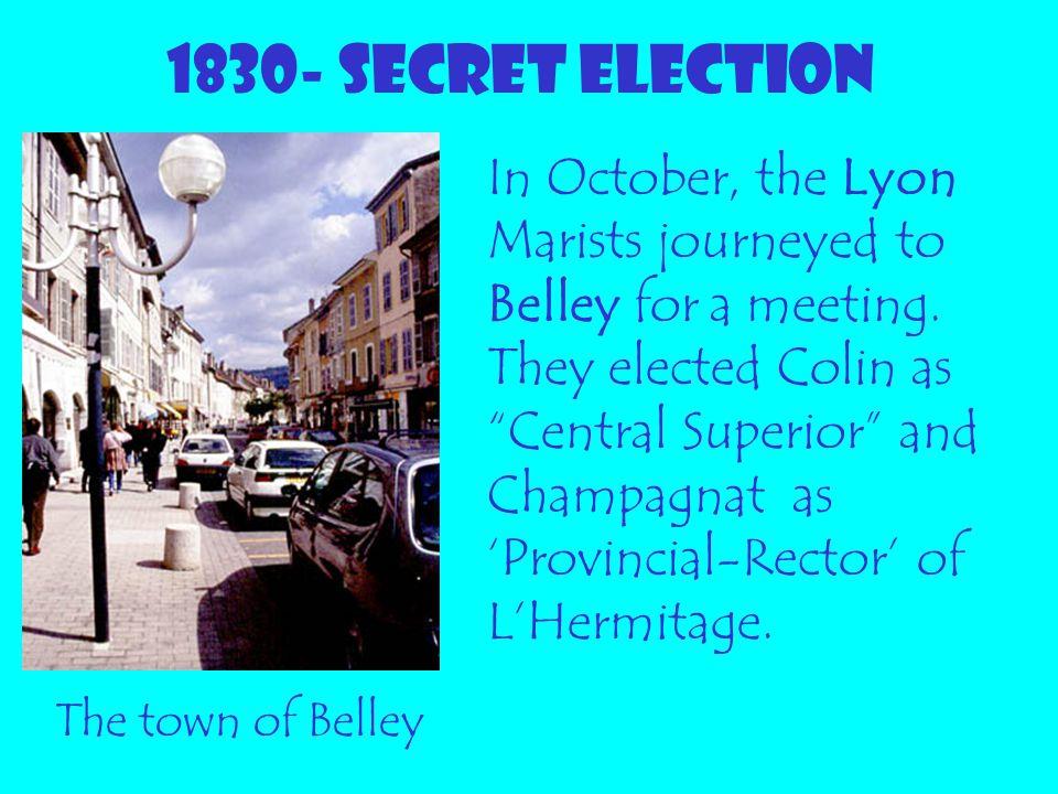 1830- SECRET ELECTION
