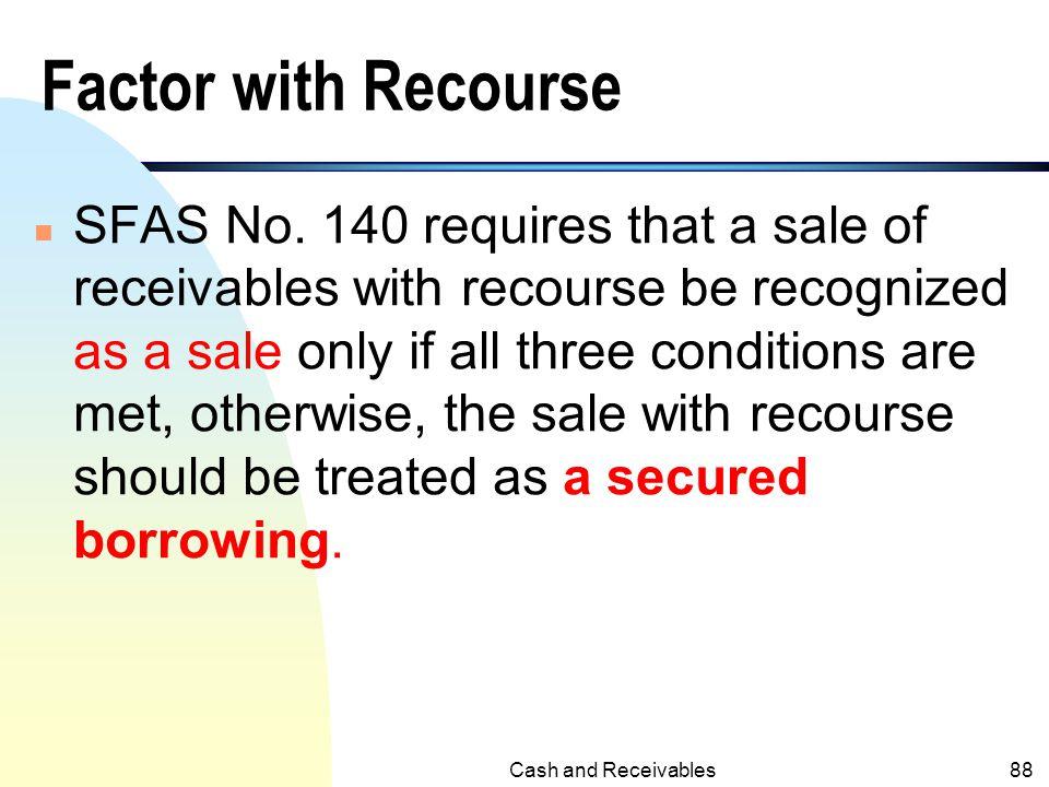 Factor with Recourse