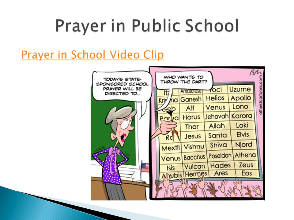 Prayer in Public School