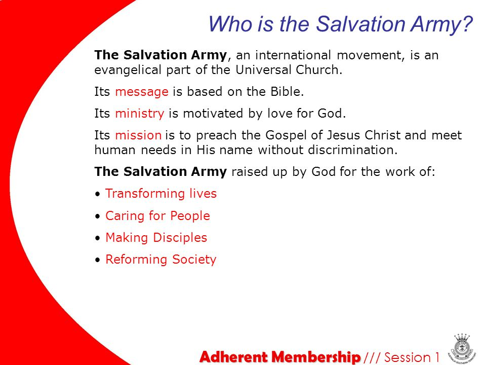 Who is the Salvation Army