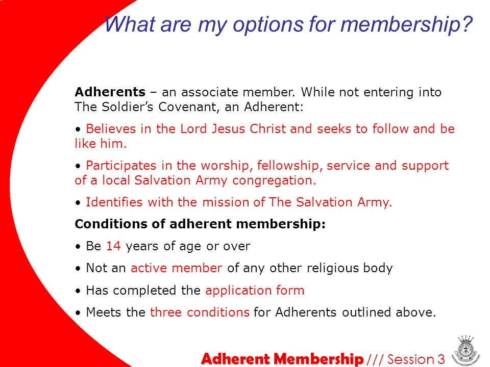 What are my options for membership