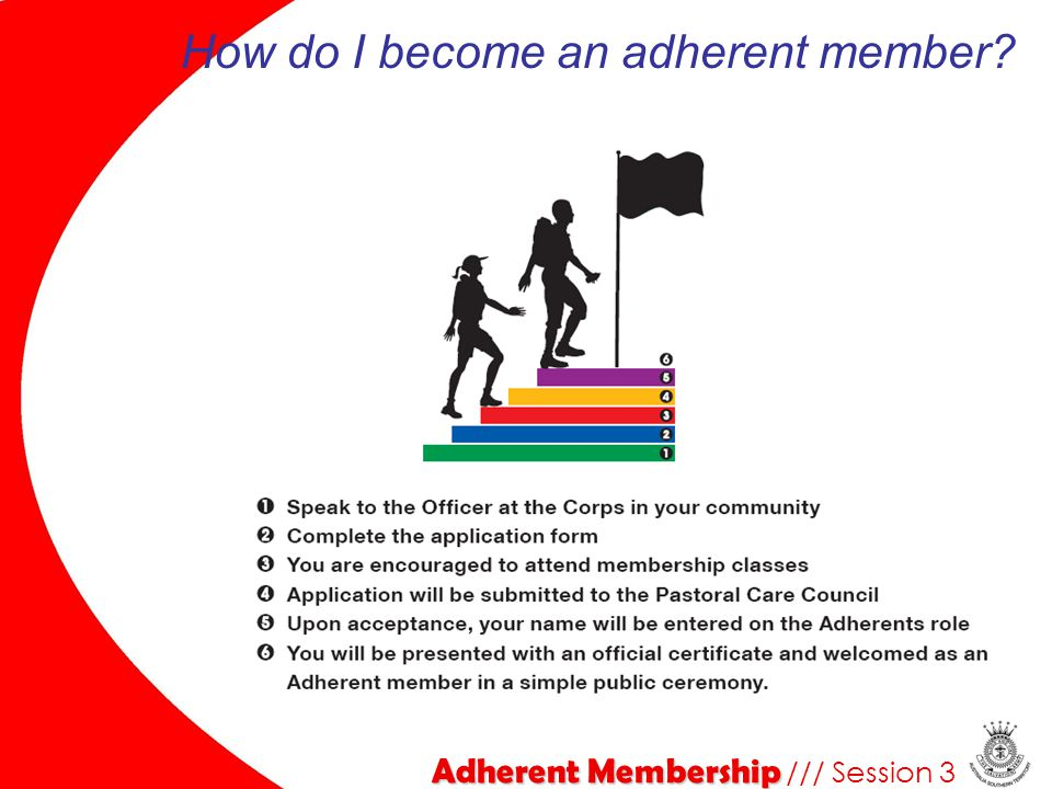 How do I become an adherent member