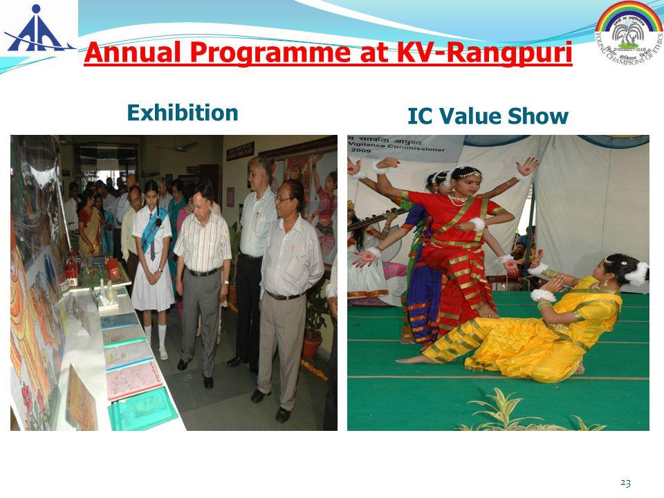 Annual Programme at KV-Rangpuri