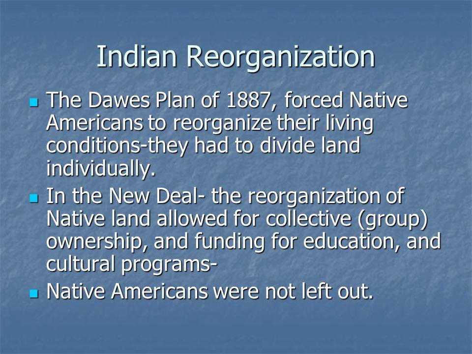 Indian Reorganization