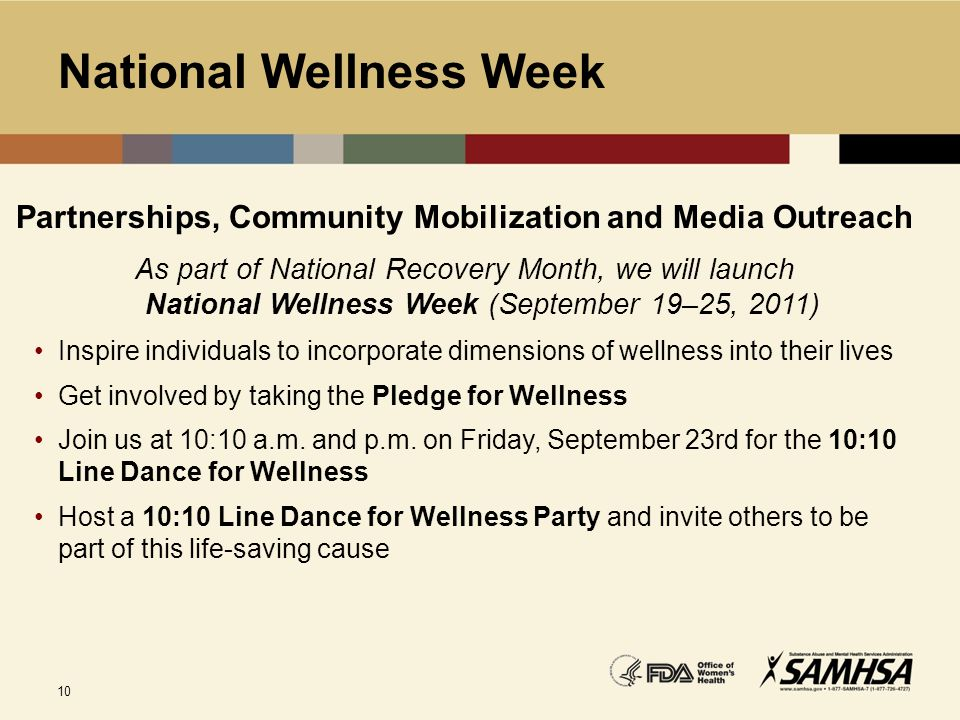 National Wellness Week