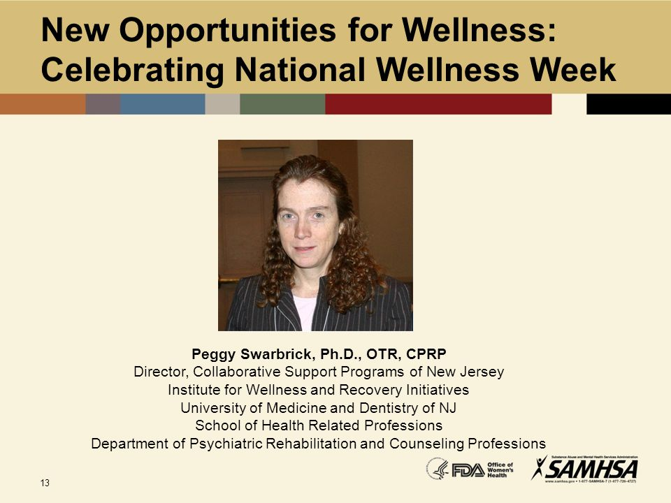 New Opportunities for Wellness: Celebrating National Wellness Week