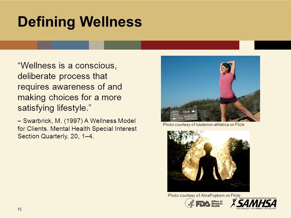 Defining Wellness Photo courtesy of lululemon athletica on Flickr.