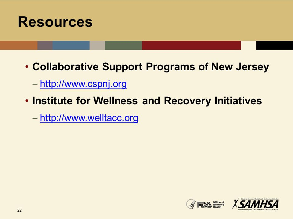 Resources Collaborative Support Programs of New Jersey