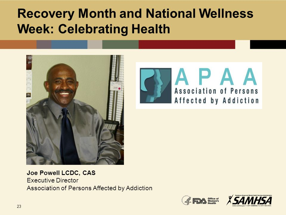 Recovery Month and National Wellness Week: Celebrating Health