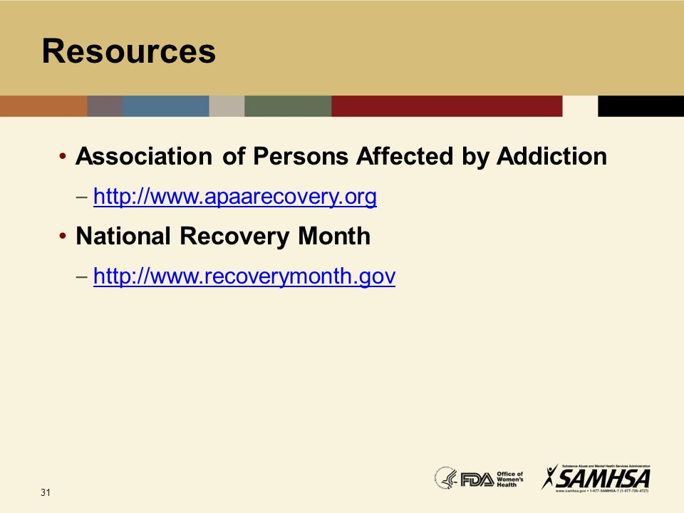 Resources Association of Persons Affected by Addiction