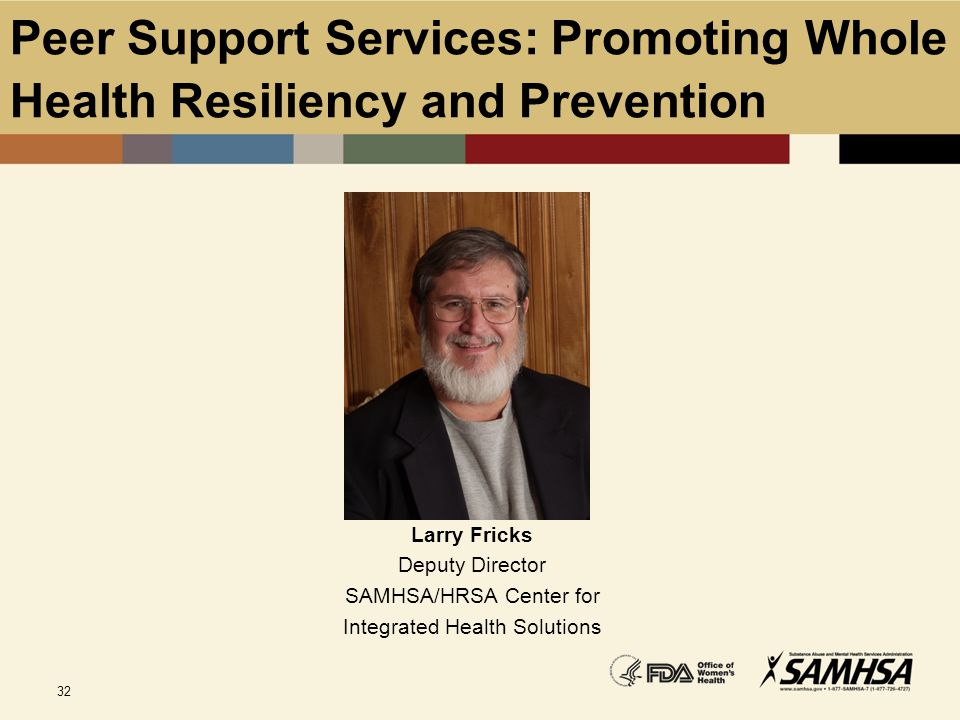 Peer Support Services: Promoting Whole Health Resiliency and Prevention