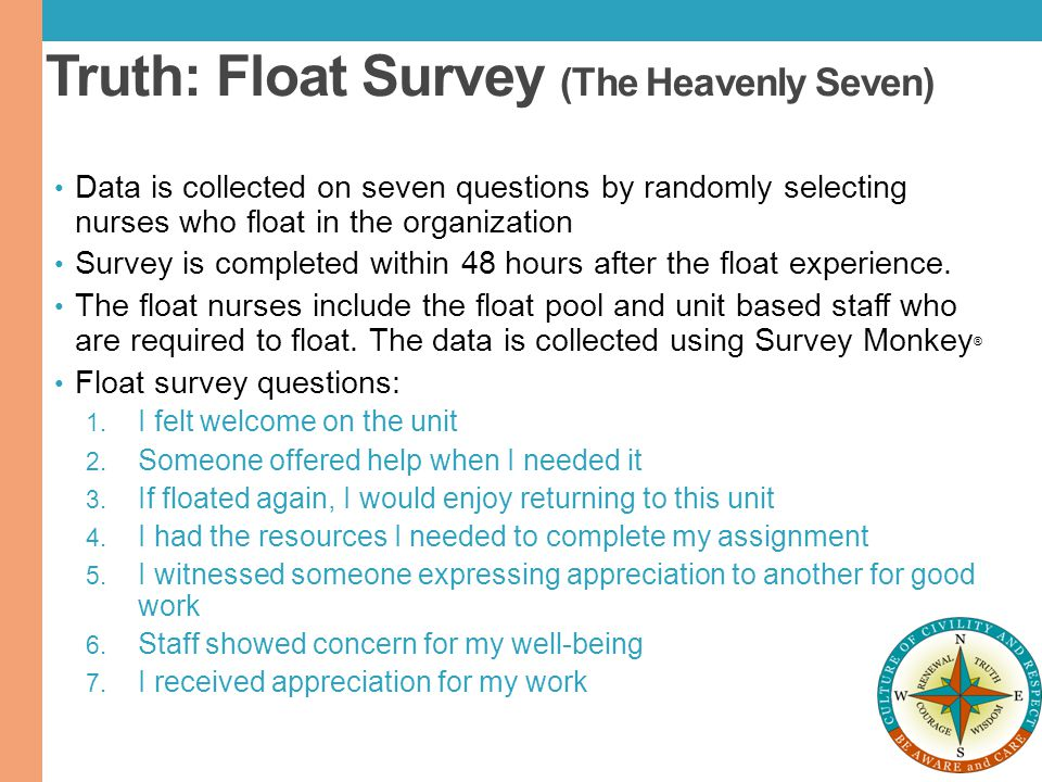 Truth: Float Survey (The Heavenly Seven)
