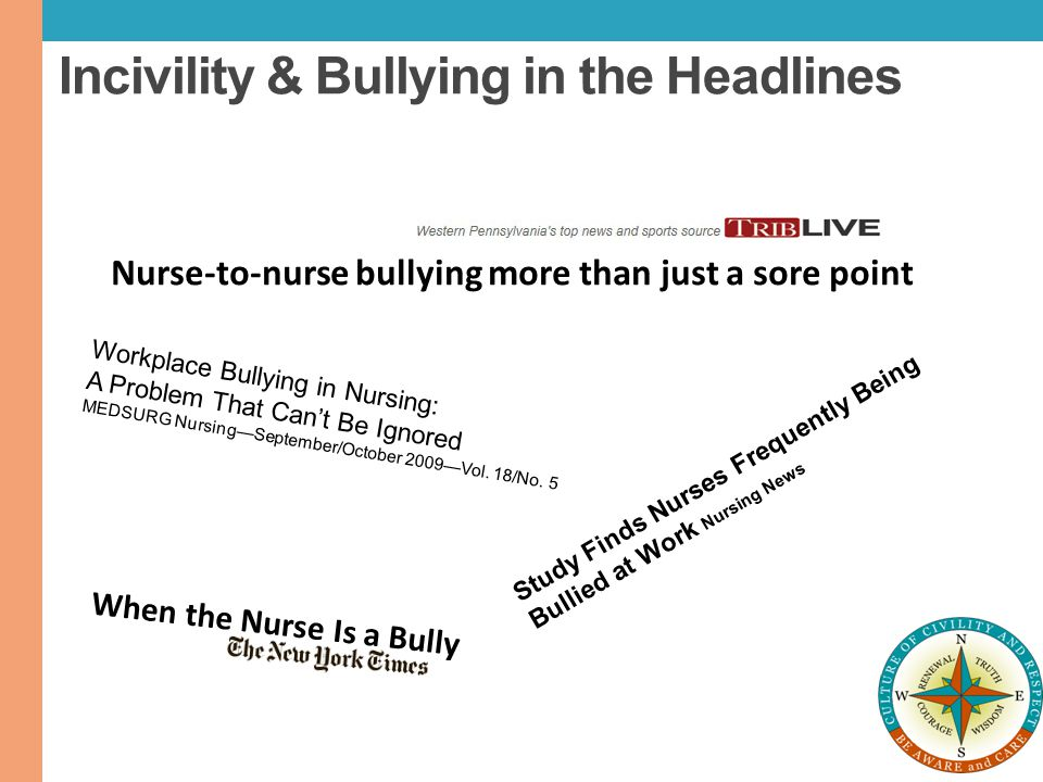 Incivility & Bullying in the Headlines