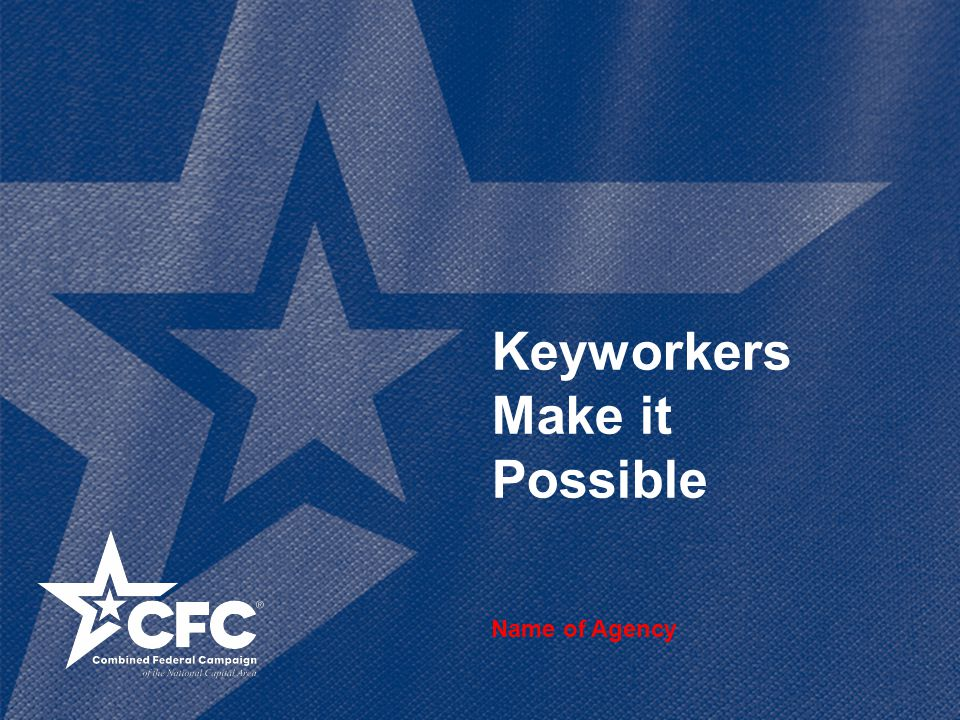 Keyworkers Make it Possible