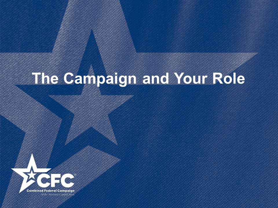 The Campaign and Your Role