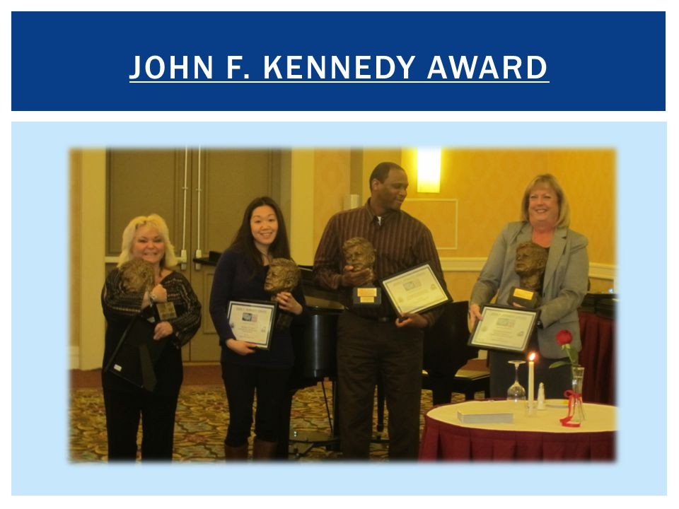 John f. Kennedy award For each agency size category:
