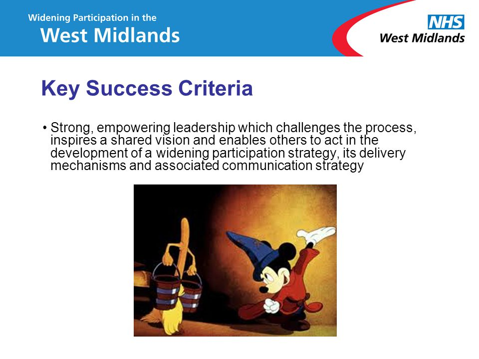 Key Success Criteria