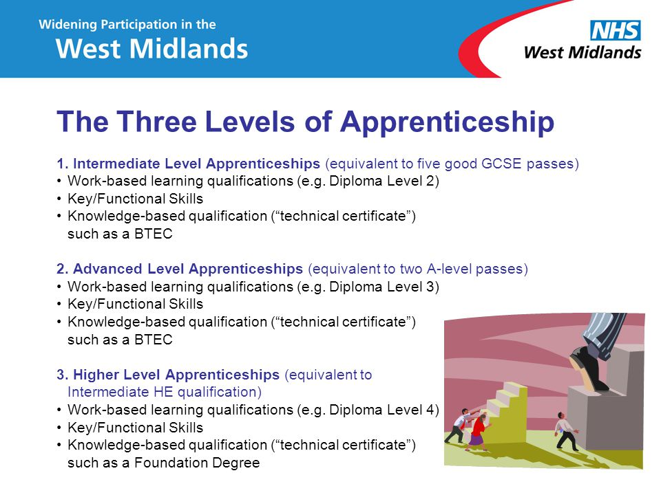 The Three Levels of Apprenticeship